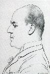 portret: Lodewijk van Deyssel