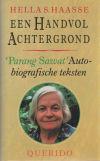 boek: Een handvol achtergrond. 'Parang sawat'. Autobiografische teksten